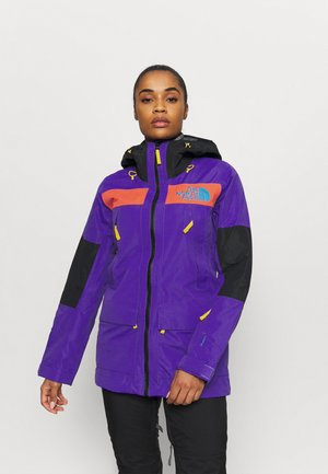 TEAM KIT JACKET - Kurtka Outdoor - purple/red/black