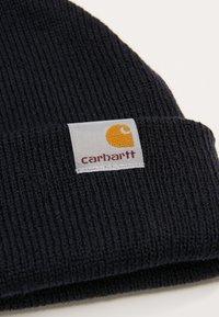 Carhartt WIP - STRATUS HAT LOW - Beanie - dark navy - 3