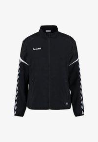 Hummel - CHARGE MICRO ZIP - Training jacket - black - 0