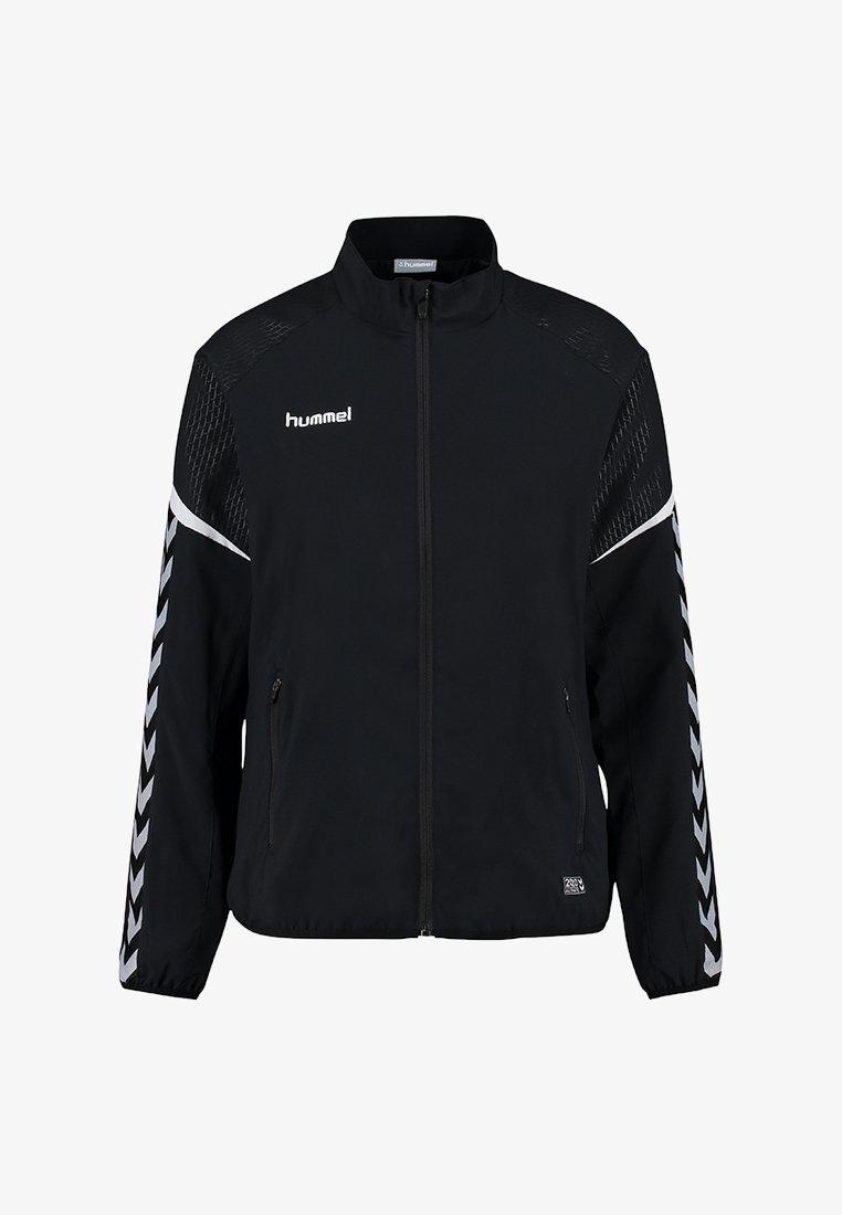 Hummel - CHARGE MICRO ZIP - Training jacket - black