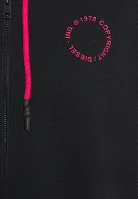 Diesel - BFOWT-JUNO-Z - Pyjama top - black/pink - 2