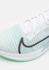 Nike Performance - ZOOMX SUPERREP SURGE - Sportovní boty - white/bronze eclipse/green glow/infinite lilac/laser orange - 5