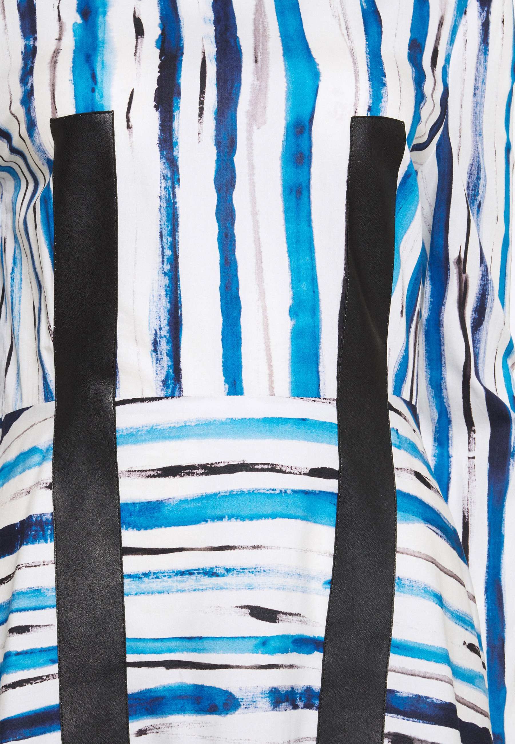 Damen STRIPE DRESS - Freizeitkleid - ink blue