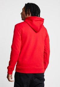 adidas Originals - TREFOIL HOODIE UNISEX - Hoodie - scarlet/white - 2