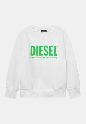 SCREWDIVISION LOGO UNISEX - Sweatshirt - bianco