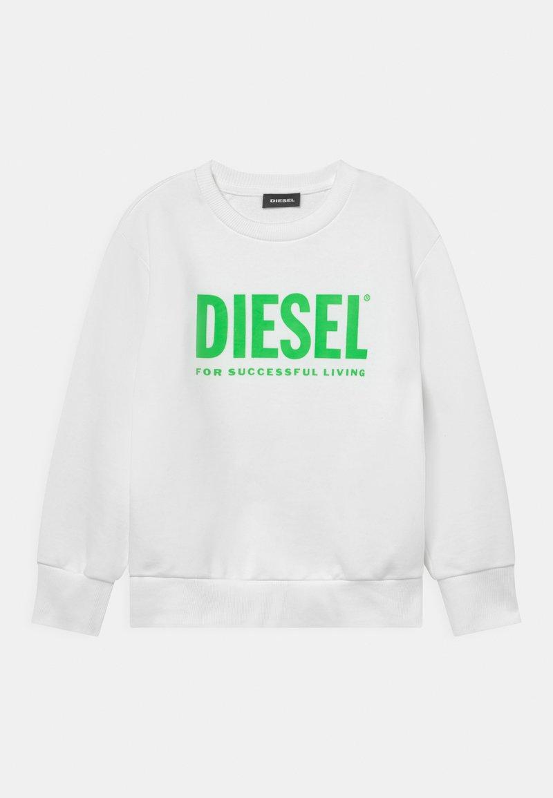 Diesel - SCREWDIVISION LOGO UNISEX - Sweatshirt - bianco