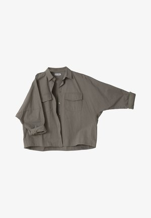 Overhemdblouse - light military