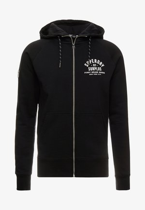 SURPLUS GOODS  - Zip-up hoodie - jet black
