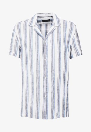 BIJAN - Shirt - white/blue