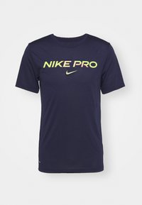 TEE PRO - T-shirt med print - blackened blue/cyber