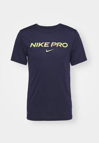 TEE PRO - T-shirt print - blackened blue/cyber