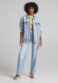 Bershka - Giacca di jeans - light blue - 1