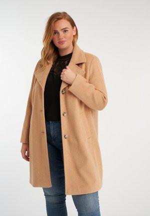 LONG CITY - Classic coat - multi neutrals