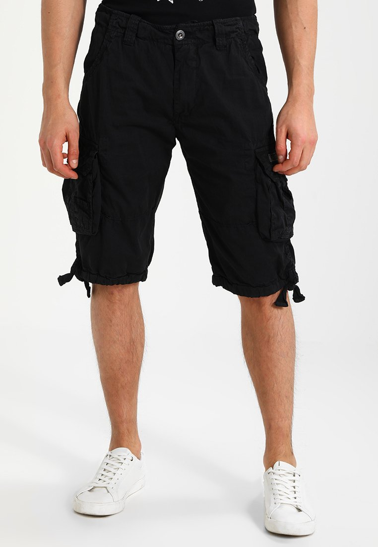 Alpha Industries - JET - Shorts - schwarz