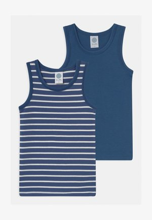 MINI 2 PACK - Undershirt - ink blue