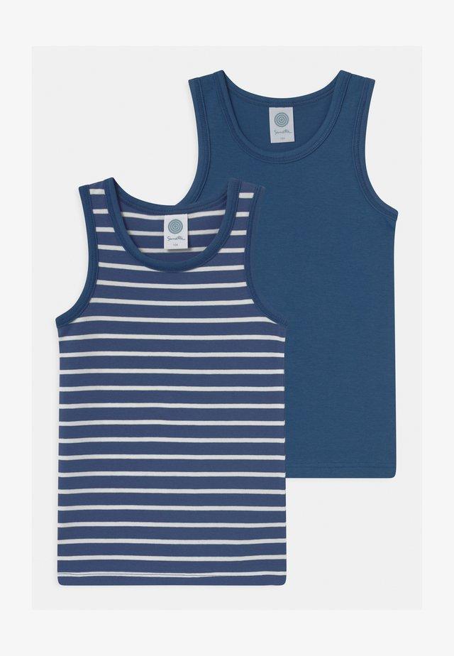 MINI 2 PACK - Undershirt - ink blue