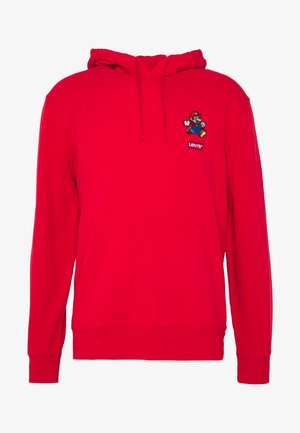 LEVI'S® X SUPER MARIO GRAPHIC PO HOODIE- B - Jersey con capucha - mario lc patch t2 hoodie red
