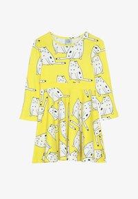 igi natur - LONG DRESS - Jerseykjoler - yellow - 3