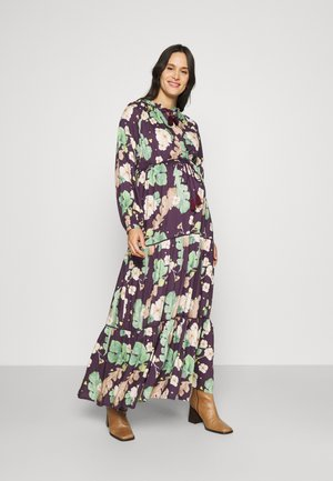 B FOR BOTANIST - Maxi dress - aubergine