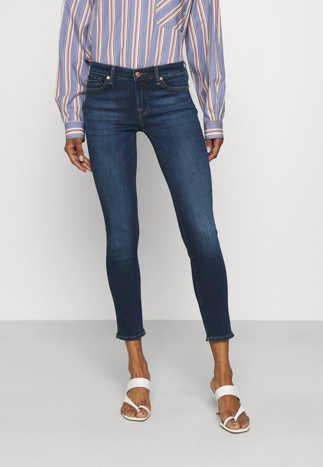 PYPER CROP SLIILLEMP - Jeans Skinny - dark blue