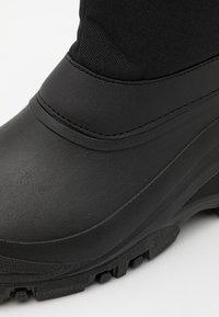 Pier One - UNISEX - Winter boots - black - 5