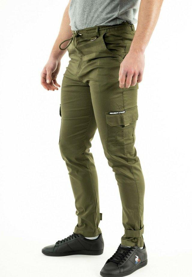 Cargo trousers - vert