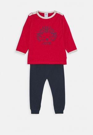 LONG BABY SET - Pyjama - karmin