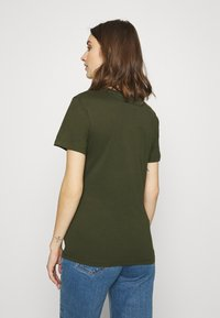 Calvin Klein Jeans - ROUND TEE - Print T-shirt - deep depths - 2