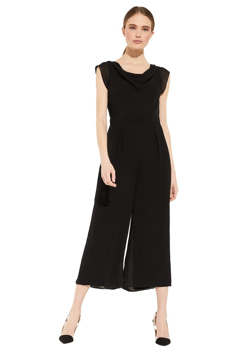 comma - OVERALL  - Jumpsuit - black