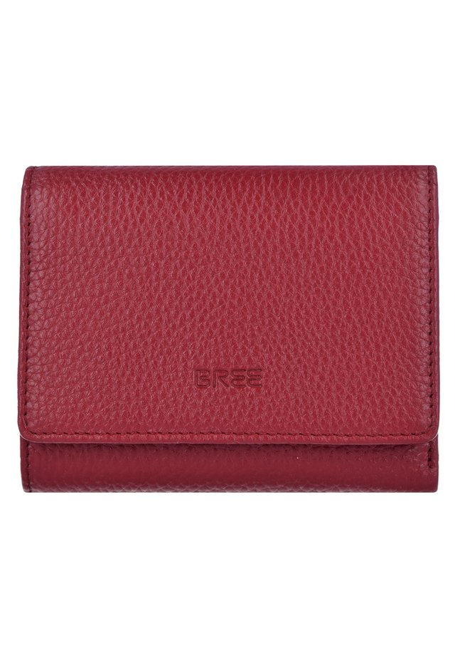 Wallet - brick red