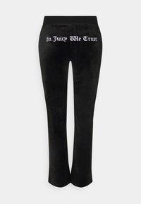 Juicy Couture - ANNIVERSARY CREST TRACK PANTS - Trainingsbroek - black - 10