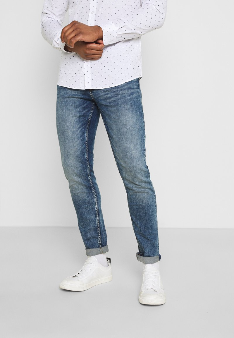 Only & Sons - ONSLOOM LIFE CARD - Jeans slim fit - blue denim