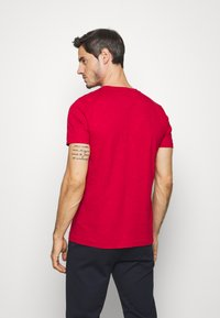 Tommy Hilfiger - SLUB TEE - T-shirt basic - red - 2