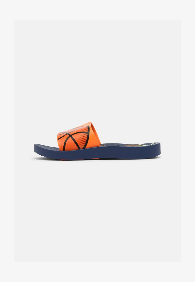 Ipanema - URBAN II SLIDE KIDS - Pool slides - blue/orange/yellow