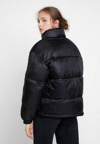 Weekday - BENITA PUFFER JACKET - Winter jacket - black - 2