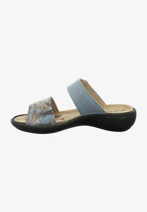 IBIZA  - Mules - jeans-kombi