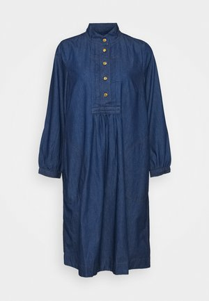 LIGHT WEIGHT INDIGO - Denimové šaty - denim dark blue