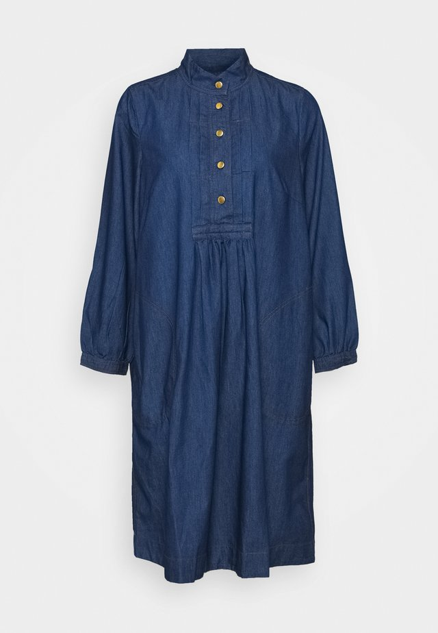 LIGHT WEIGHT INDIGO - Denim dress - denim dark blue