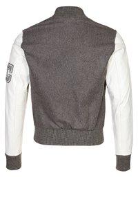 American College - TEDDY - Veste en cuir - grey - 1