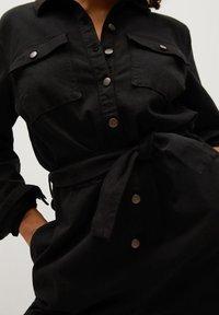 Violeta by Mango - GWYNETH - Combinaison - black denim - 4