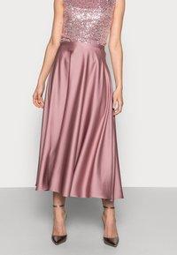 Swing - A-line skirt - pale lipstick - 0