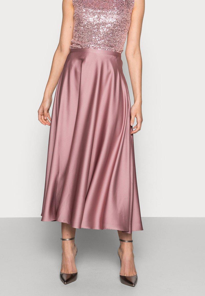 Swing - A-line skirt - pale lipstick