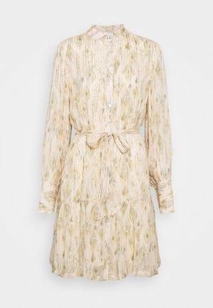 DAHLIA OTHILLIA DRESS - Košilové šaty - white cream