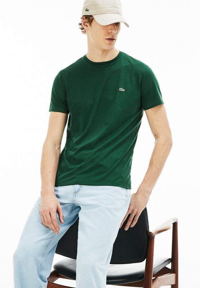 TH6709 - T-shirt basique - evergreen