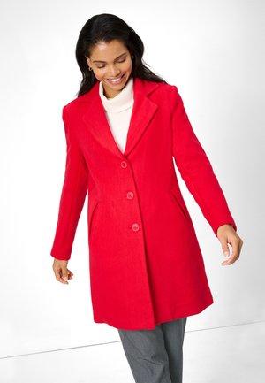 Short coat - kirschrot