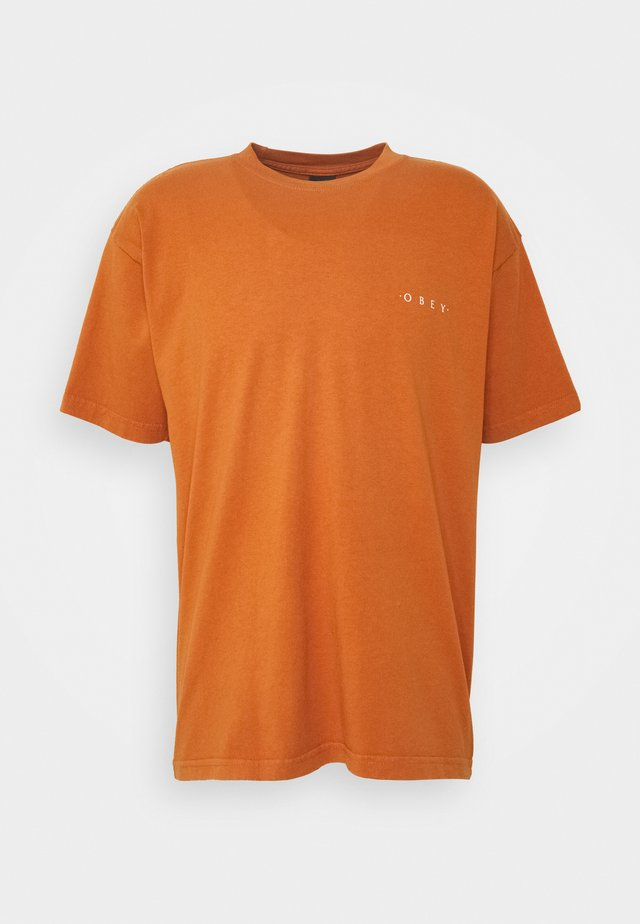 NOVEL  - T-shirt basic - pumpkin spice