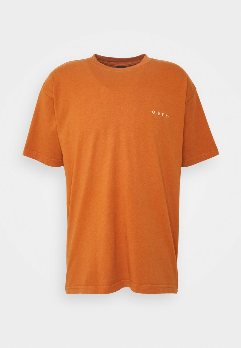 Obey Clothing - NOVEL  - T-shirt basic - pumpkin spice