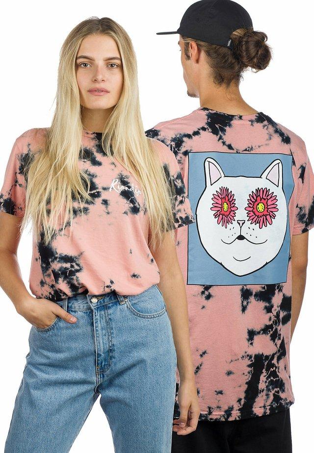 Print T-shirt - tie dye