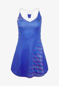 Mizuno - PRINTED DRESS - Jersey dress - dazzling blue - 3