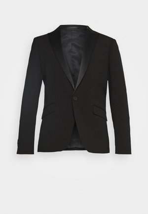 STRETCH TUXEDO SUIT - Kostym - black